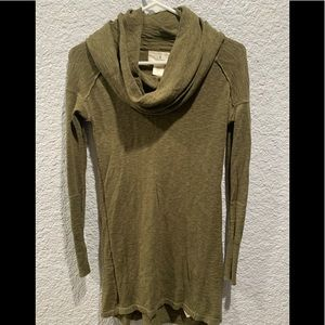 Ruby Moon Olive Green Cowl Neck Sweater XL